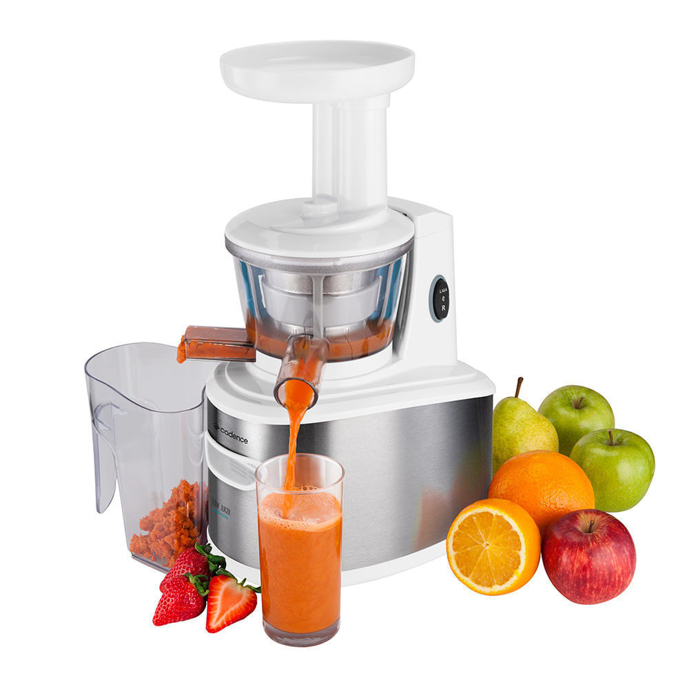 Slow Cadence Juicer Perfect vit? - 6x mais nutrientes - Cadence