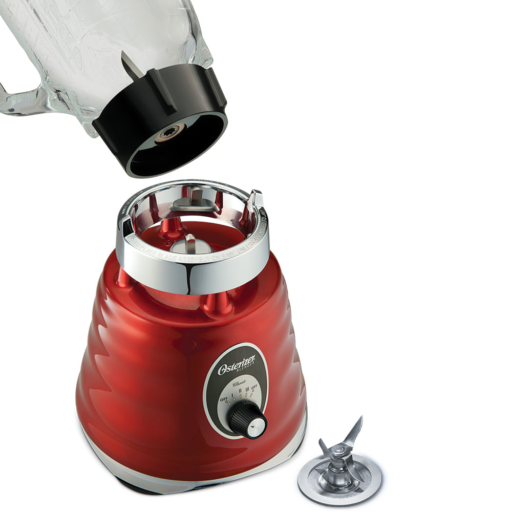Liquidificador Osterizer Clássico Oster Vermelho 4126
