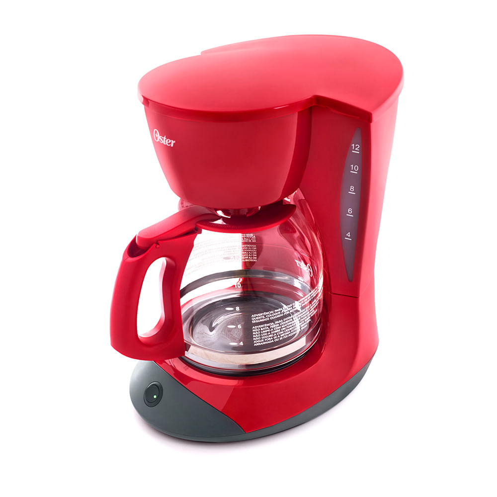Cafeteira Oster Red Cuisine 1,8L