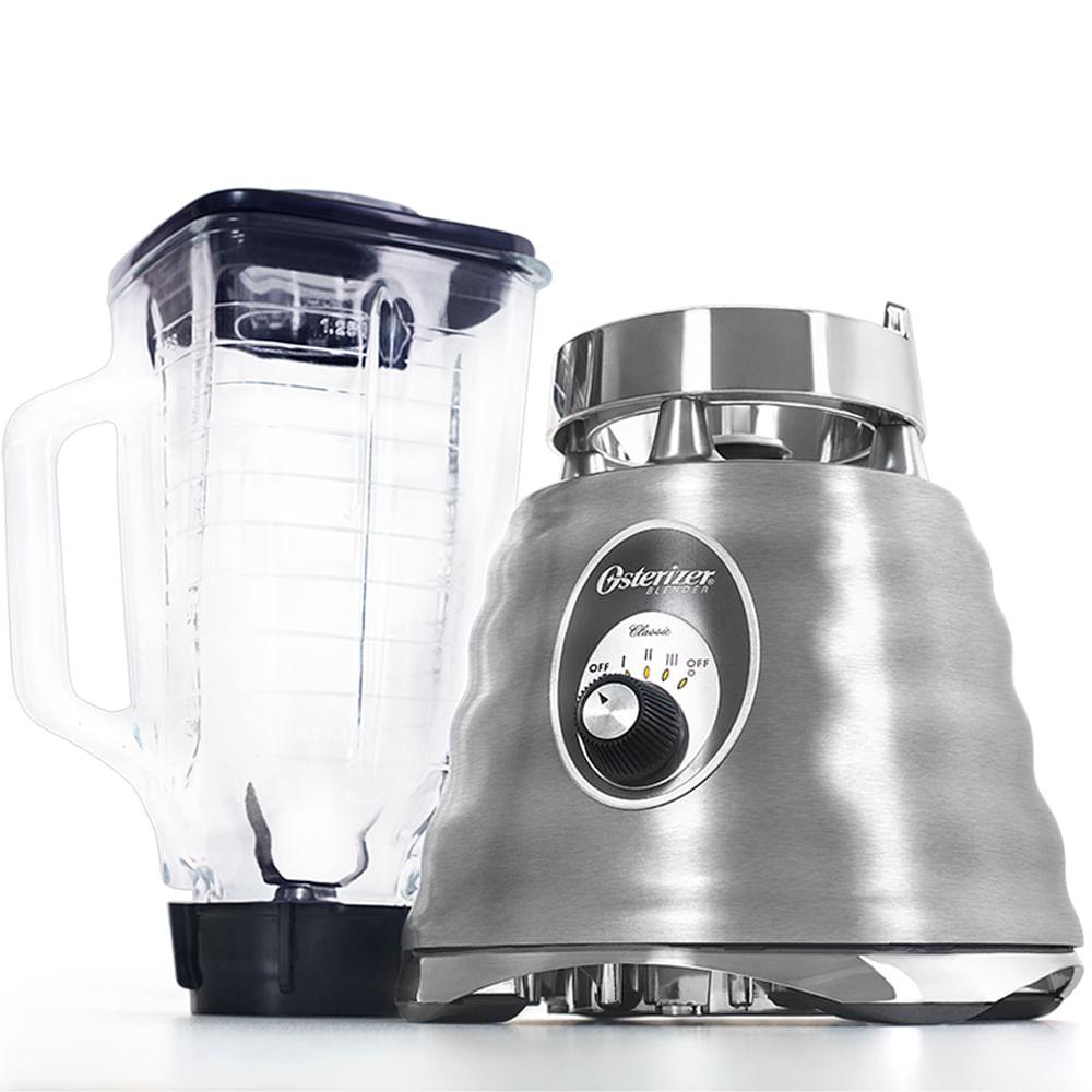 Liquidificador Osterizer Clássico Oster Aço Escovado 4655Z