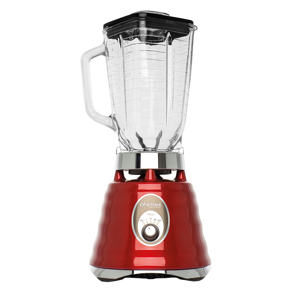 Kit Osterizer Vermelho - Liquidificador e Jarra Extra