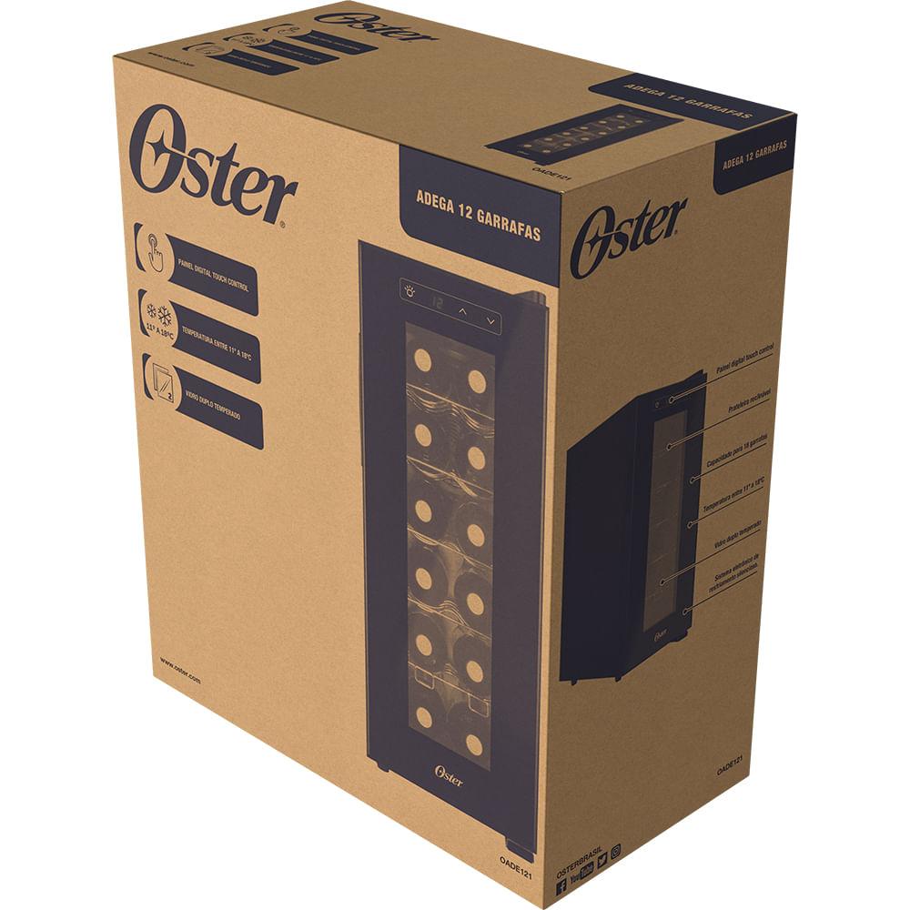 Adega Oster 12 garrafas Touch Control