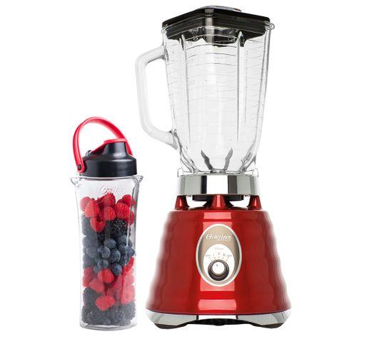 Kit-Osterizer-Vermelho---Liquidificador-e-Jarra-Blend-N-Go