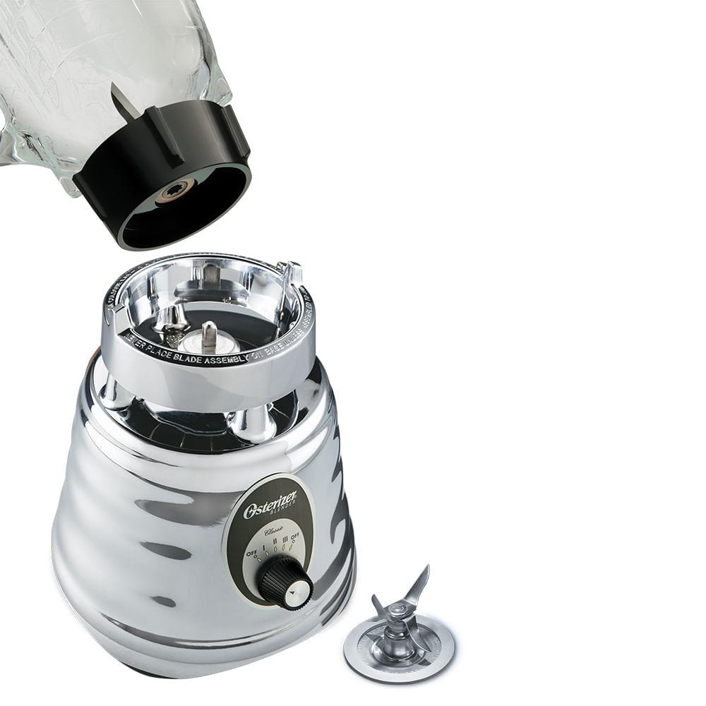 Kit Batedeira Planetária Bowl Inox e Liquidificador Osterizer