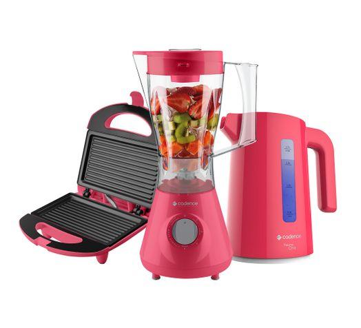 Kit-Cadence-Colors-Rosa-Doce-Liquidificador-Chaleira-Sanduicheira-rasterizad