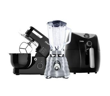 Kit-Black-Inox---Batedeira---Fritadeira---Liquidificador-Oster