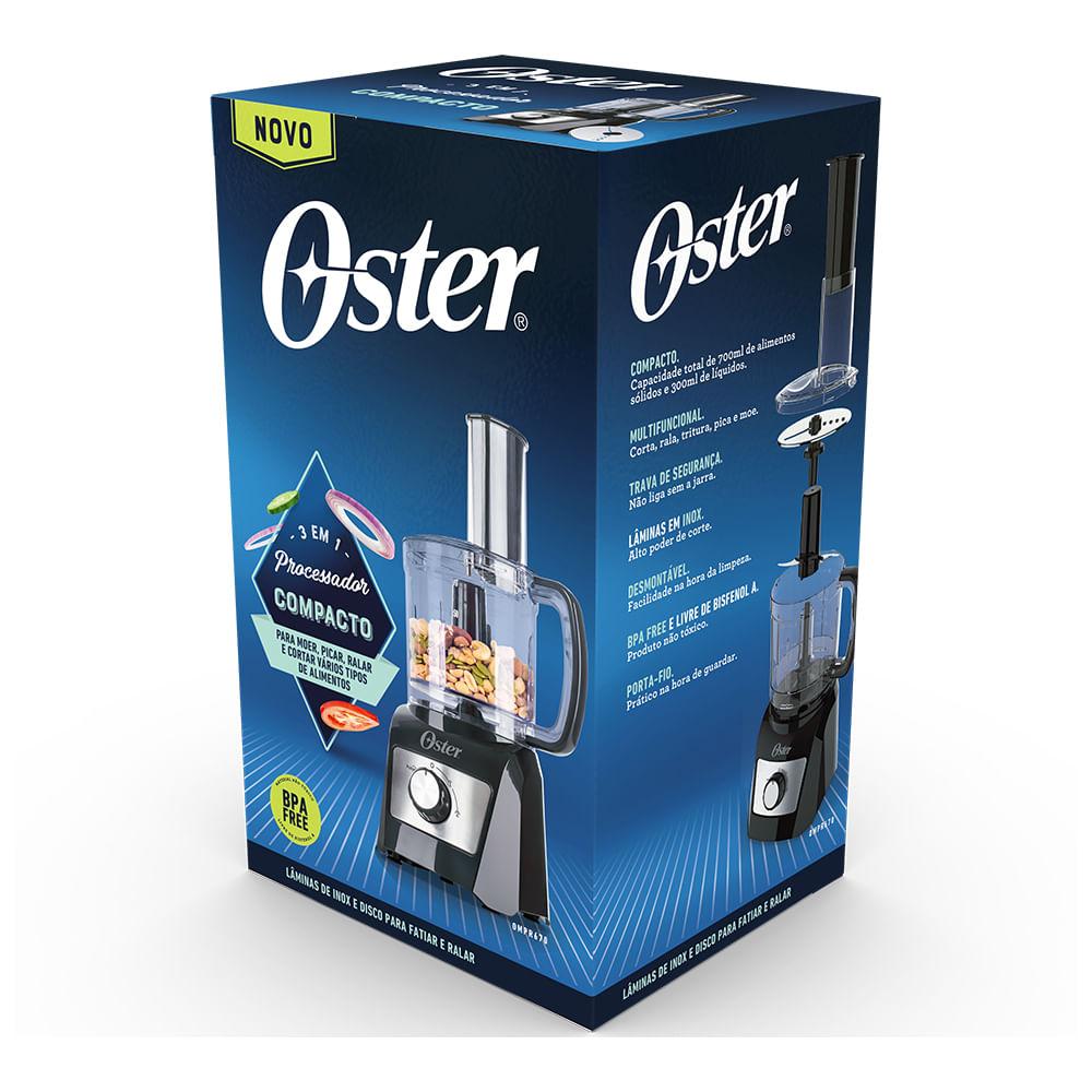 Processador de Alimentos Compacto 3 em 1 Oster