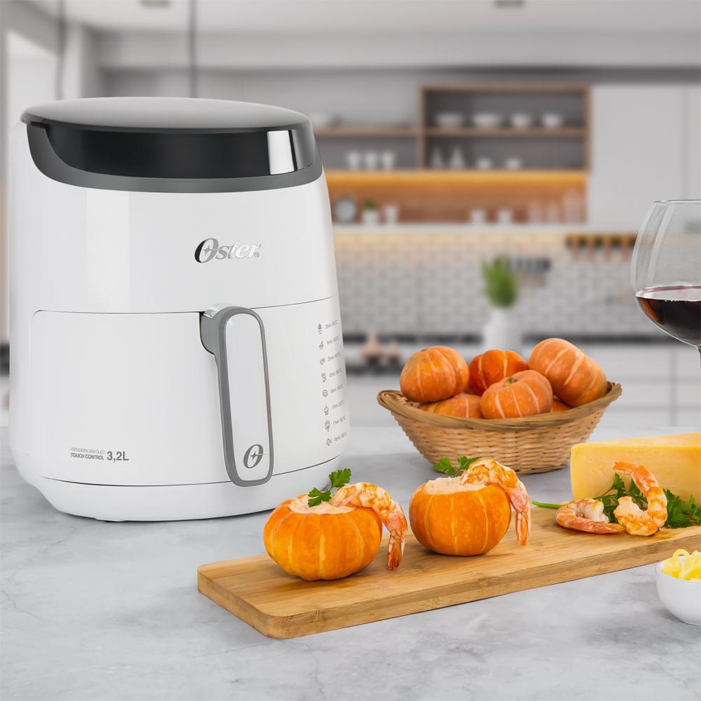 Fritadeira Digital Fryer 3,2L Oster com Painel Touch