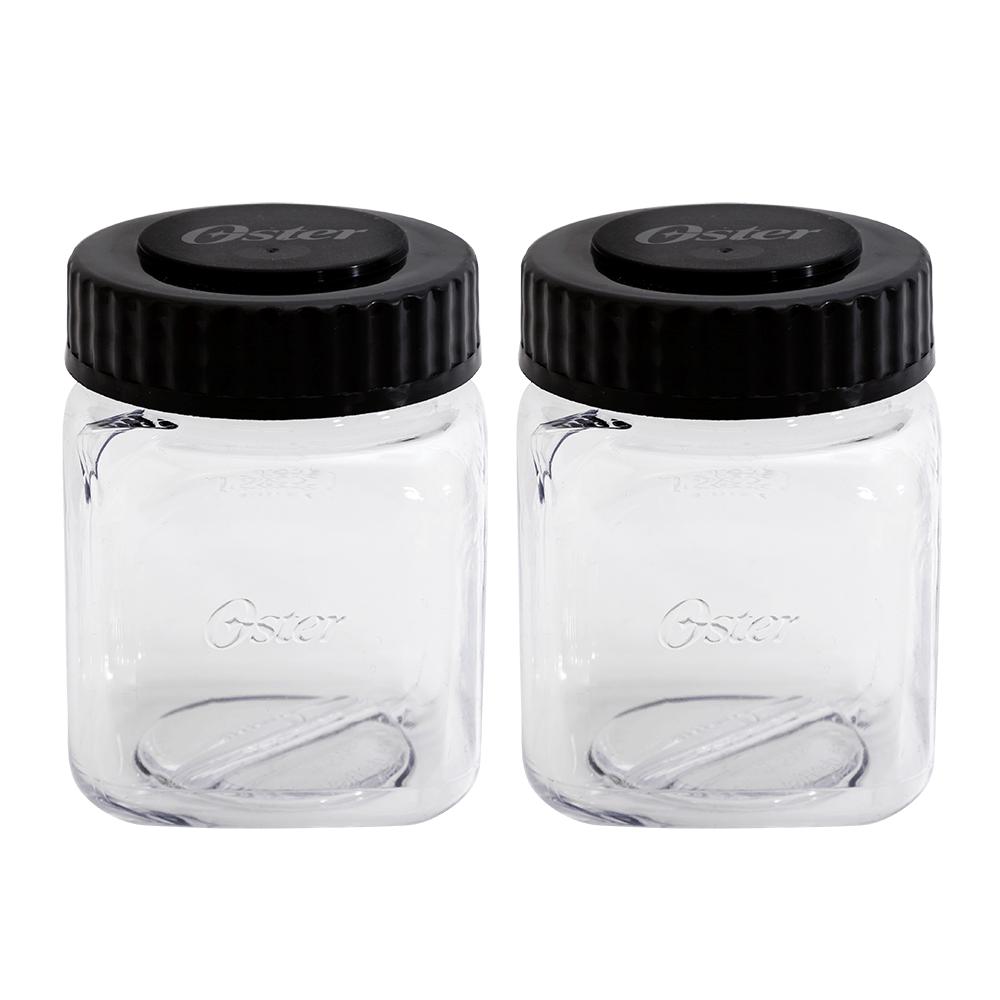 Kit Osterizer Aço Escovado - Liquidificador e Mini Jarras