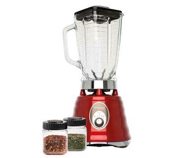Kit-Osterizer-Vermelho---Liquidificador-e-Mini-Jarras