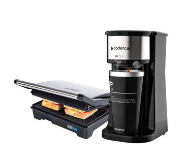 Kit-Cadence-Black-Cafeteira-To-GoeGrill