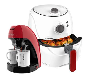 Kit-Cadence-Red-White-Fritadeira-e-Cafeteira-Single