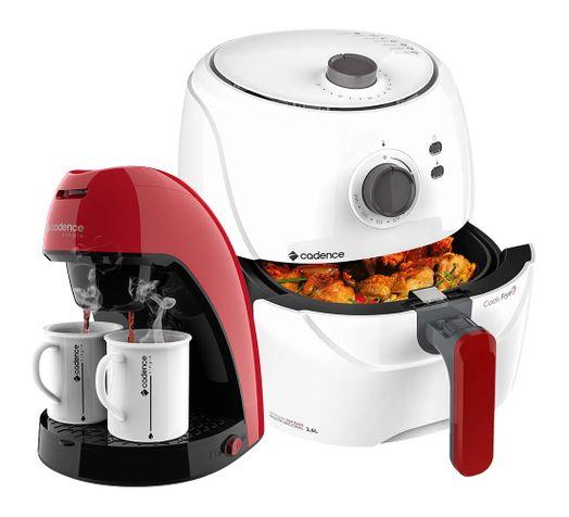 Kit-Cadence-Red-White-Fritadeira-e-Cafeteira-Single