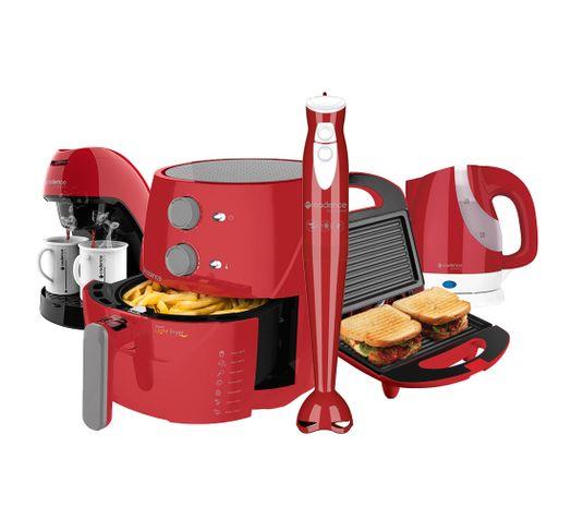Kit-Cadence-Colors-Vermelho-Light-Fryer