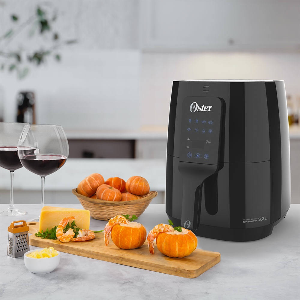 Fritadeira Digital Control 3,3L Oster com Painel Touch